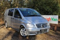 2013 MERCEDES-BENZ VITO 3.0 122 CDI DUALINER AUTOMATIC LWB £9995.00