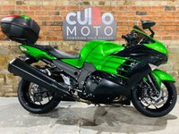 USED 2016 16 KAWASAKI ZZR1400 ZX1400 FFF ABS  Top Box