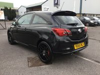 USED 2016 65 VAUXHALL CORSA 1.4 BLACK EDITION S/S 3d 148 BHP