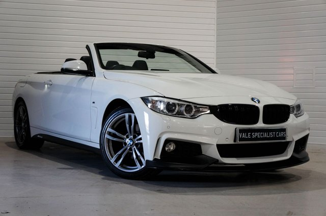 2015 65 BMW 4 SERIES 2.0 420D M SPORT (PRO MEDIA SAT NAV)
