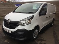 USED 2015 15 RENAULT TRAFIC 1.6 SL27 BUSINESS DCI S/R P/V 115 BHP