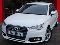 USED 2017 67 AUDI A1 SPORTBACK 1.0 TFSI SPORT 5d 95 S/S 1 OWNER FROM NEW, BALANCE OF MANUFACTURER'S WARRANTY, UPGRADE HILL HOLD CONTROL, DAB, BLUETOOTH PHONE & MUSIC STREAMING, AUDI MUSIC INTERFACE (AMI), CRUISE CONTROL, REAR ACOUSTIC PARKING SENSORS, FRONT FOGS, 16 IN 5 SPOKE ALLOYS, GREY TORNADO CLOTH INTERIOR, SPORT SEATS, LEATHER MULTIFUNCTION STEERING WHEEL, A/C, CD & SD CARD READER, TYRE PRESSURE MONITORING SYSTEM, ELECTRIC WINDOWS, ELECTRIC HEATED DOOR MIRRORS, ISO FIX, FOLDING REAR SEATS, AIRBAGS WITH PASSENGER OFF FUNCTION, VAT QUALIFYING.