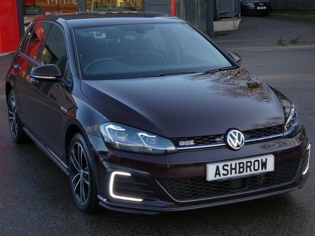 USED 2017 67 VOLKSWAGEN GOLF 1.4 TSI GTE 5d DSG  1 OWNER, FULL VW HISTORY, BALANCE OF VW WARRANTY, VIRTUAL COCKPIT / DIGITAL DASH, APP CONNECT FOR APPLE CARPLAY / ANDROID AUTO (GIVES YOU SAT NAV), DAB RADIO, BLUETOOTH PHONE & MUSIC STREAMING, FRONT & REAR PARKING SENSORS WITH DISPLAY, ADAPTIVE CRUISE CONTROL WITH FRONT ASSIST(ACC), LED LIGHTS, 17 INCH 10 SPOKE ALLOYS, GREY TARTAN JACARA CLOTH INTERIOR, SPORT SEATS, ELECTRIC HEATED FOLDING MIRRORS, LEATHER FLAT BOTTOM TIPTRONIC MULTIFUNCTION STEERING WHEEL, LIGHT & RAIN SENSORS, AUX & USB INPUT