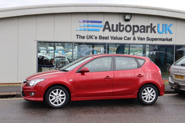 USED 2011 11 HYUNDAI I30 1.6 COMFORT 5d 124 BHP LOW DEPOSIT OR NO DEPOSIT FINANCE AVAILABLE