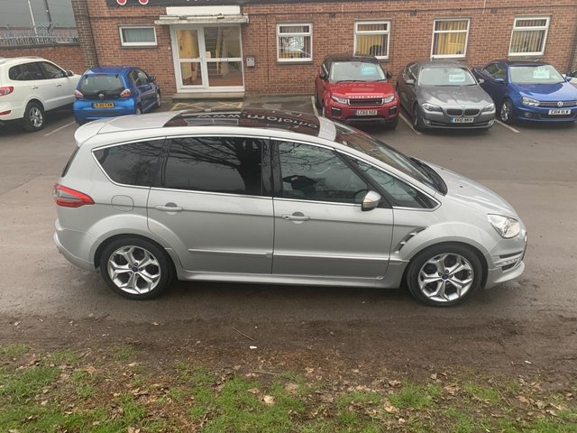 USED 2011 11 FORD S-MAX 2.0 TITANIUM X SPORT 5d 237 BHP SERVICE HISTORY, PANORAMIC ROOF, ALLOY WHEELS, HEATED WINDSCREEN, RADIO/CD, CRUISE CONTROL, CLIMATE CONTROL