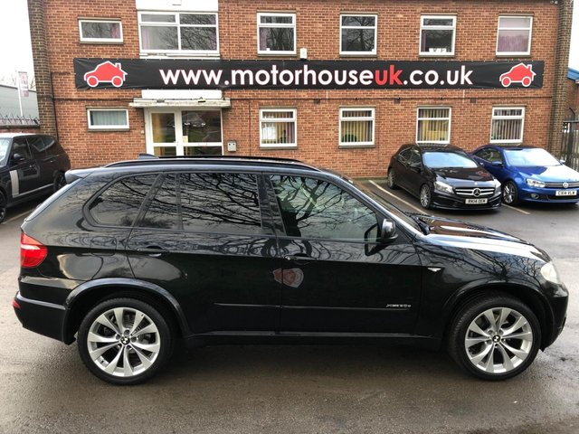 USED 2009 59 BMW X5 3.0 XDRIVE30D M SPORT 5d 232 BHP SERVICE HISTORY, PANORAMIC ROOF, ALLOY WHEELS, PARK SENSORS, HEATED LEATHER SEATS, RADIO/CD/AUX/USB, CRUISE CONTROL, CLIMATE CONTROL, SATELLITE NAVIGATION