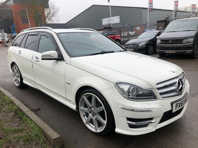 USED 2011 61 MERCEDES-BENZ C CLASS 2.1 C250 CDI BLUEEFFICIENCY SPORT ED125 5d 204 BHP ESTATE SERVICE HISTORY, ALLOY WHEELS, PARK SENSORS, HEATED LEATHER, RADIO/CD/AUX/USB, CRUISE CONTROL, CLIMATE CONTROL, SATELLITE NAVIGATION