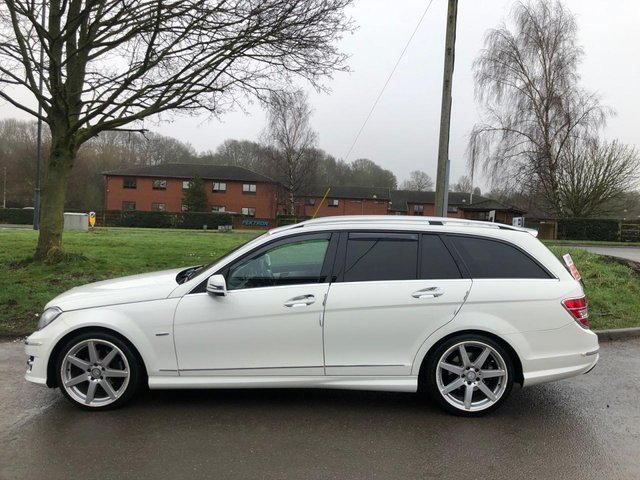 USED 2011 61 MERCEDES-BENZ C-CLASS 2.1 C250 CDI BLUEEFFICIENCY ESTATE SPORT ED125 5d 204 BHP SERVICE HISTORY, ALLOY WHEELS, PARK SENSORS, HEATED LEATHER, RADIO/CD/AUX/USB, CRUISE CONTROL, CLIMATE CONTROL, SATELLITE NAVIGATION