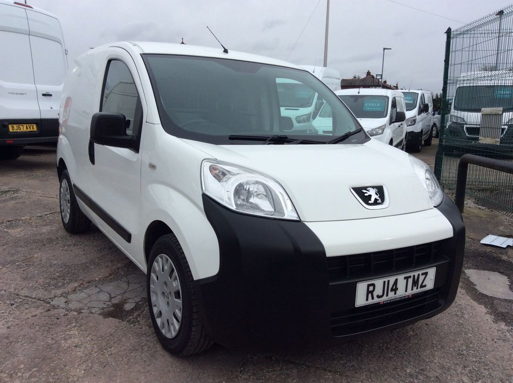 USED 2014 14 PEUGEOT BIPPER 1.2 HDI PROFESSIONAL 75 BHP 1 OWNER FSH NEW MOT AIR CON FREE AA WARRANTY INCLUDING RECOVERY AND ASSIST NEW MOT AIR CONDITIONING EURO 5 BLUETOOTH ELECTRIC WINDOWS AND MIRRORS