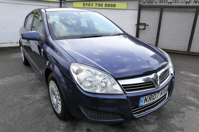 USED 2007 07 VAUXHALL ASTRA 1.6 LIFE A/C 5d 115 BHP * HPI CLEAR - CAM BELT DONE  *