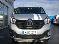 USED 2017 17 RENAULT TRAFIC 1.6 LL29 SPORT NAV ENERGY DCI CREW 125 BHP