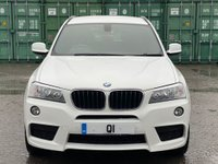USED 2012 62 BMW X3 2.0 20d M Sport xDrive 5dr FSH/CRUISE/ISOFIX/