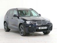 2017 BMW X3 3.0 30d M Sport Sport Auto xDrive 5dr £25550.00
