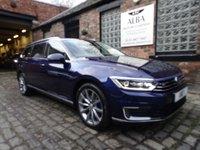 2018 VOLKSWAGEN PASSAT 1.4 GTE ADVANCE DSG 5d 156 BHP £20995.00