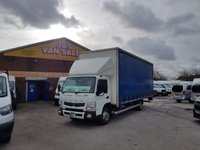 USED 2016 16 MITSUBISHI FUSO CANTER 3.0 7C15 47 148 BHP JUMBO EXTRA 23 FOOT CURTAIN SIDE NEW SHAPE CANTER CURTAIN SIDER 2016/16 LOW KMs