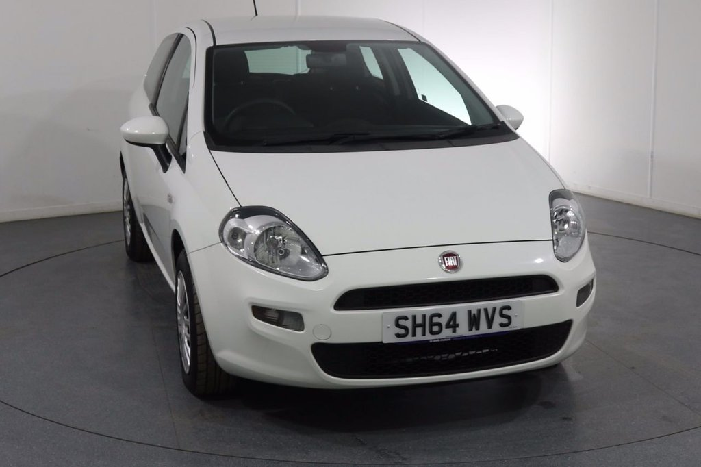 USED 2014 64 FIAT PUNTO 1.2 POP 3d 69 BHP ONE OWNER with 4 Stamp SERVICE HISTORY