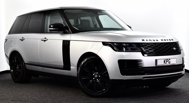 """USED 2018 68 LAND ROVER RANGE ROVER 3.0 SD V6 Vogue SE Auto 4WD (s/s) 5dr Black Pack, Pan Roof, 21""""s ++"""