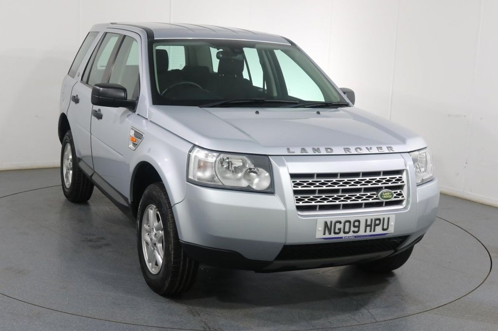 USED 2009 09 LAND ROVER FREELANDER 2.2 TD4 S 5d 159 BHP 3 OWNERS with 9 Stamp SERVICE HISTORY