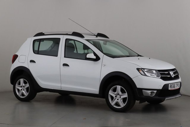 View our 2016 66 DACIA SANDERO 0.9 STEPWAY LAUREATE TCE 5d 90 BHP