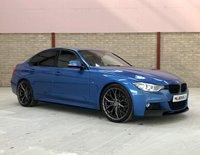 2013 BMW 3 SERIES 2.0 320D M SPORT 4d 181 BHP £13250.00