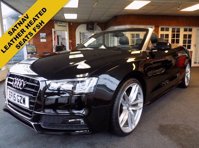 USED 2015 15 AUDI A5 2.0 TDI S LINE SPECIAL EDITION 2d 175 BHP
