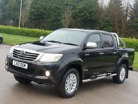 2012 TOYOTA HI-LUX 3.0 INVINCIBLE 4X4 D-4D DCB 169 BHP SOLD
