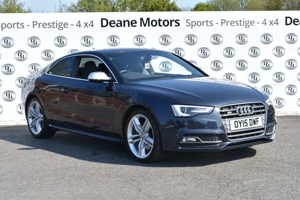 USED 2015 15 AUDI S5 3.0 S5 TFSI QUATTRO S/S 2d 333 BHP TECH PACK