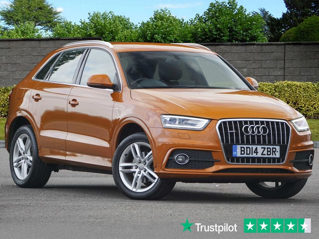 USED 2014 14 AUDI Q3 2.0L TDI QUATTRO S LINE 5d 175 BHP Rare Colour Xenon Plus Lights