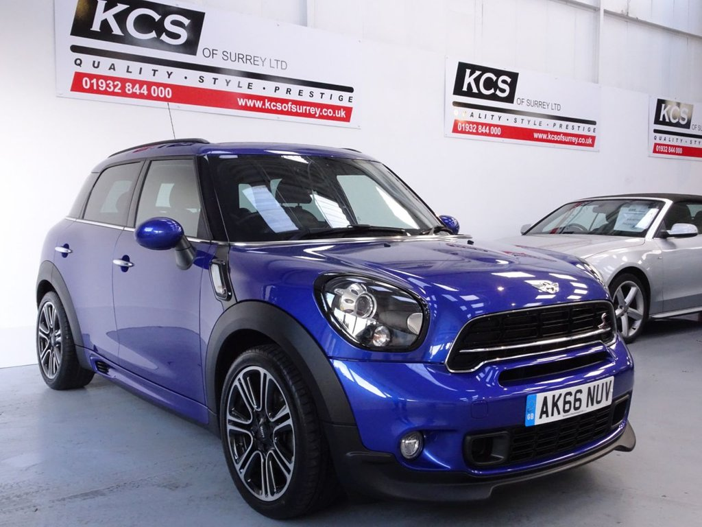 USED 2016 66 MINI COUNTRYMAN 2.0 COOPER SD 5d 141 BHP SAT NAV - PAN ROOF - LEATHER