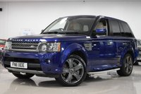 USED 2011 11 LAND ROVER RANGE ROVER SPORT 5.0L V8 HSE 5d AUTO 510 BHP STUNNING RANGE ROVER SPORT + FSH + 9 STAMPS!