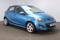 USED 2010 60 MAZDA 2 1.5 SPORT 5DR 101 BHP CRUISE CONTROL + CLIMATE CONTROL + MULTI FUNCTION WHEEL + RADIO/CD + ELECTRIC WINDOWS + ELECTRIC/HEATED/DOOR MIRRORS + 16 INCH ALLOY WHEELS