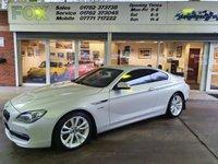 2013 BMW 6 SERIES 3.0 640I SE 2d 316 BHP £15975.00