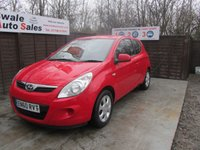 USED 2011 60 HYUNDAI I20 1.4 COMFORT 3d 99 BHP GOOD AND BAD CREDIT SPECIALISTS! APPLY TODAY!
