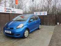 USED 2010 10 TOYOTA AYGO 1.0 BLUE VVT-I 5d 67 BHP GOOD AND BAD CREDIT SPECIALISTS! APPLY TODAY!