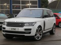 2017 LAND ROVER RANGE ROVER 5.0 V8 SVAUTOBIOGRAPHY DYNAMIC 5d 543 BHP £79696.00