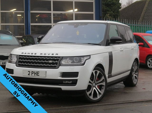USED 2017 LAND ROVER RANGE ROVER 5.0 V8 SVAUTOBIOGRAPHY DYNAMIC 5d 543 BHP