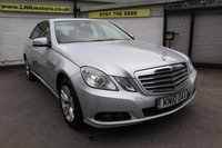 2010 MERCEDES-BENZ E CLASS 2.1 E200 CDI BLUEEFFICIENCY SE 4d AUTO 136 BHP £5750.00