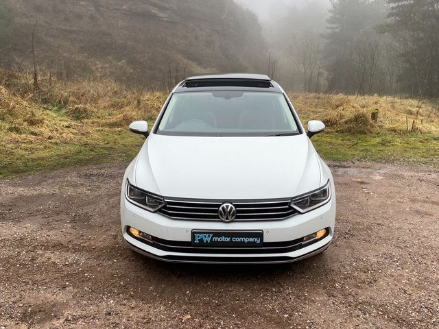 USED 2016 66 VOLKSWAGEN PASSAT 1.6 GT TDI BLUEMOTION TECHNOLOGY 4d 119 BHP Panoramic Sun Roof
