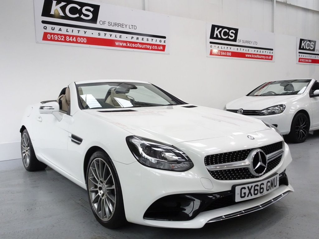 USED 2016 66 MERCEDES-BENZ SLC 2.0 SLC 200 AMG LINE 2d 181 BHP SAT NAV - CAMERA - BLUETOOTH