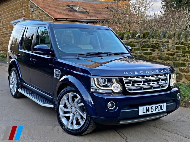 2015 15 LAND ROVER DISCOVERY 3.0 SDV6 HSE 5d 255 BHP