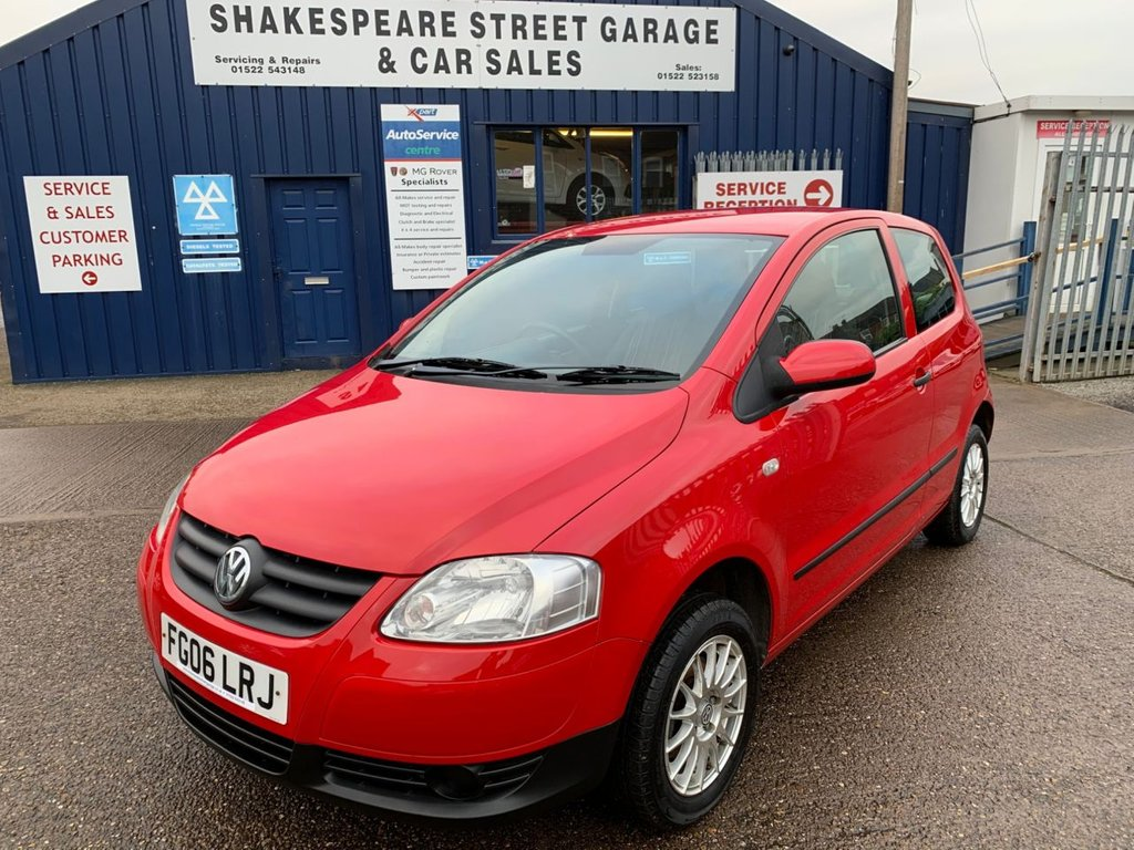 USED 2006 06 VOLKSWAGEN FOX 1.2 6V 3d 54 BHP