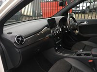 USED 2018 18 MERCEDES-BENZ B CLASS 1.5 B 180 D AMG LINE 5d 107 BHP STUNNING ALPINE WHITE PAINTWORK WITH HALF BLACK LEATHER UPHOLSTERY. ONLY ONE OWNER FROM NEW. REVERSING CAMERA. CRUISE CONTROL. DIAMOND CUT ALLOY WHEELS. AIR CONDITIONING. ELECTRIC WINDOWS. REMOTE CENTRAL LOCKING WITH TWO KEYS. CARBON FIBRE LOOK INTERIOR TRIM. PLEASE GOTO www.lowcostmotorcompany.co.uk TO VIEW OVER 120 CARS IN STOCK.