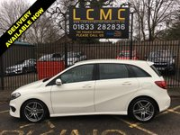USED 2018 18 MERCEDES-BENZ B-CLASS 1.5 B 180 D AMG LINE 5d 107 BHP STUNNING ALPINE WHITE PAINTWORK WITH HALF BLACK LEATHER UPHOLSTERY. ONLY ONE OWNER FROM NEW. REVERSING CAMERA. CRUISE CONTROL. DIAMOND CUT ALLOY WHEELS. AIR CONDITIONING. ELECTRIC WINDOWS. REMOTE CENTRAL LOCKING WITH TWO KEYS. CARBON FIBRE LOOK INTERIOR TRIM. PLEASE GOTO www.lowcostmotorcompany.co.uk TO VIEW OVER 120 CARS IN STOCK.