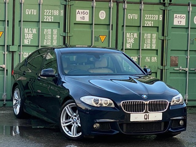 USED 2013 13 BMW 5 SERIES 2.0 520d M Sport 4dr BUY ONLINE +FREE HOME DELIVERY