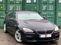 USED 2012 62 BMW 6 SERIES 3.0 640d M Sport Gran Coupe 4dr BUY ONLINE +FREE HOME DELIVERY