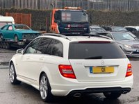 USED 2012 61 MERCEDES-BENZ C CLASS 3.0 C350 CDI BlueEFFICIENCY Sport G-Tronic 5dr FSH/PANROOF/LED/AMG