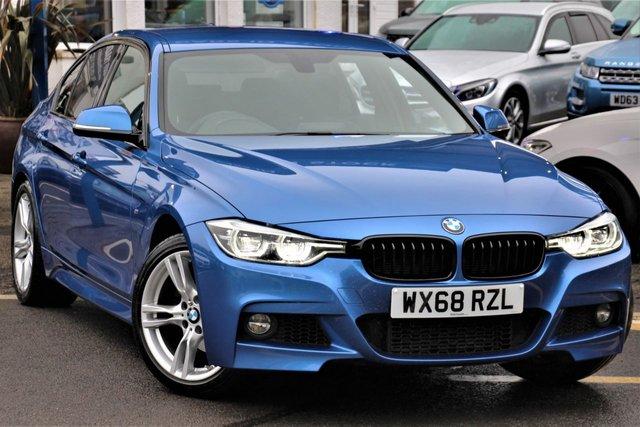 2018 68 BMW 3 SERIES 2.0 320D M SPORT 4d 188 BHP