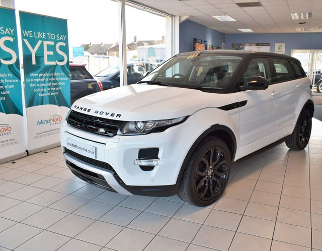 2014 64 LAND ROVER RANGE ROVER EVOQUE 2.2 SD4 DYNAMIC LUX 5d 190 BHP AUTO BLACK STYLING PACK