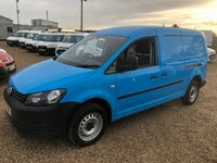 USED 2015 15 VOLKSWAGEN CADDY MAXI 1.6 C20 TDI STARTLINE 101 BHP DIRECT BRITISH GAS * 55000 MILES F.S.H * AIR CONDITIONING