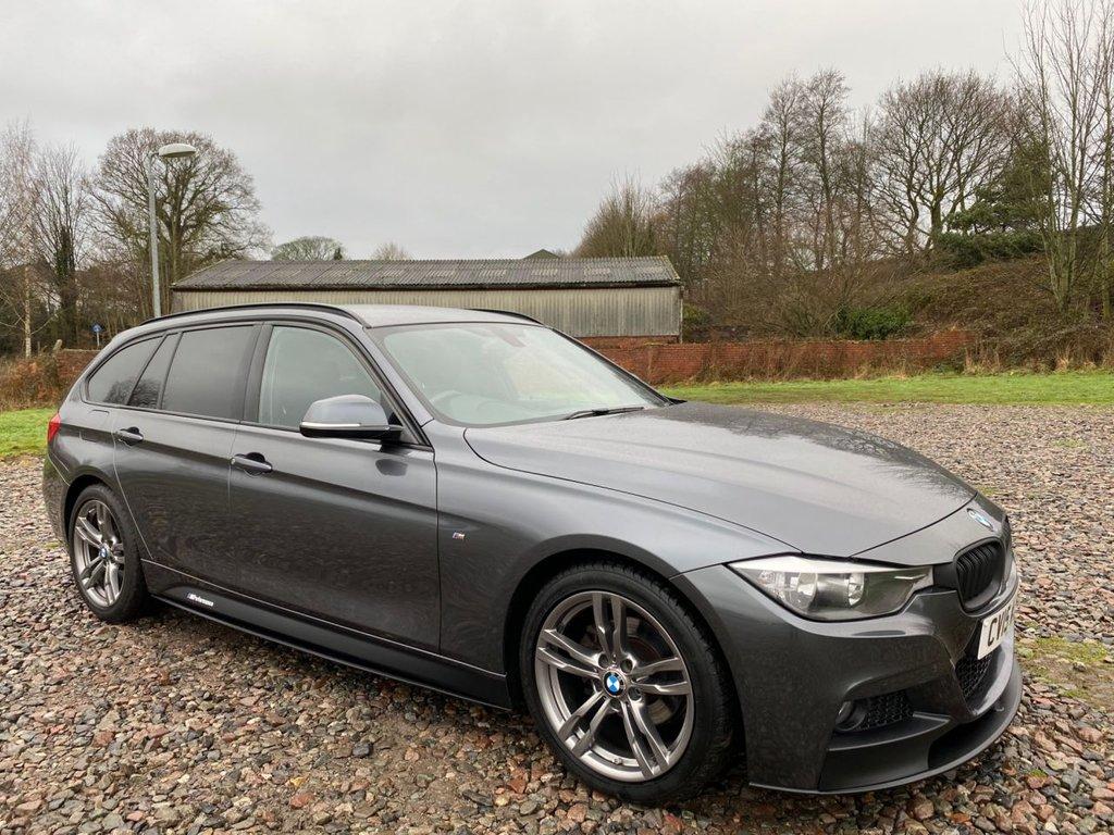 USED 2015 15 BMW 3 SERIES 2.0 318D M SPORT 4d 141 BHP